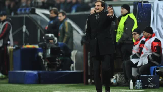 "Coppa Italia: Allegri: ""Ohrfeigen kassiert"""