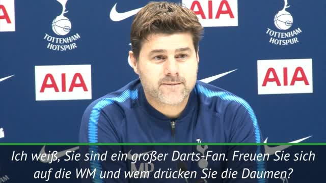 Pochettino: Darts-WM? Argentinien Favorit!