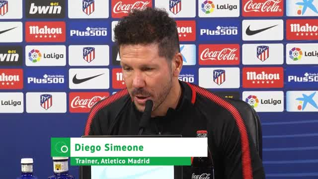 So redet Simeone sein Atlético stark