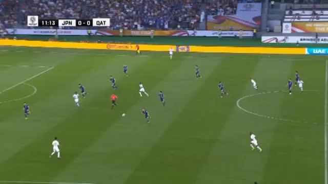 Asien-Cup: Grüße an Bale! Katars Final-Traumtor