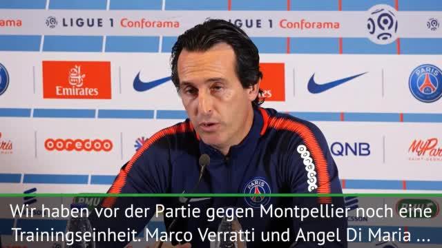 "Emery: ""Di Maria macht gute Fortschritte"""