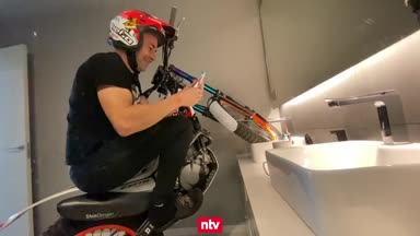 Irre Szenen! Motorrad-Weltmeister trotzt der Quarantäne