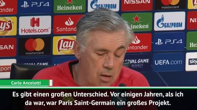 Ancelotti: PSG kurz vor Champions-League-Titel