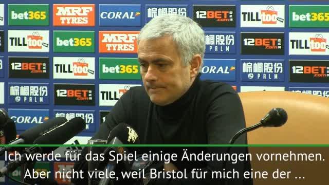 League Cup: Mourinho warnt vor Bristol