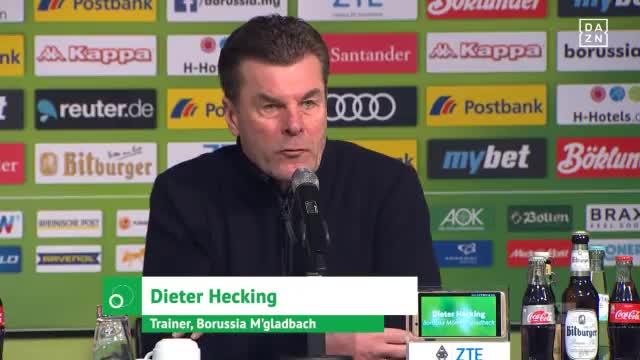 Hecking bemängelt Schiedsrichterentscheidungen