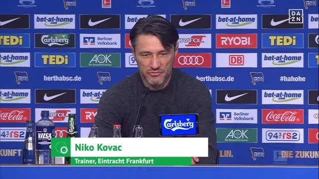 Kovac: Hätte das halbe Team auswechseln können