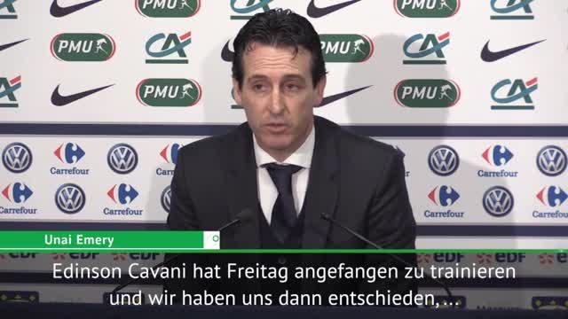 """Emery: """"Müssen als Team Einheit bilden"""""""