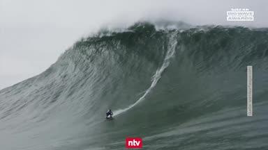 Maya Gabeira stellt neuen Surf-Weltrekord auf