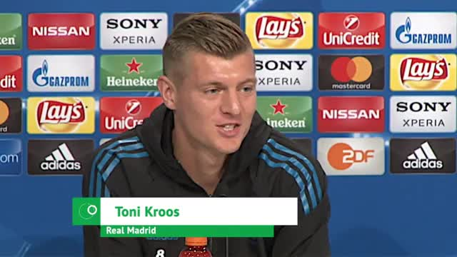 """Kroos erwartet FCB, der """"hungrig und heiß ist"""""""