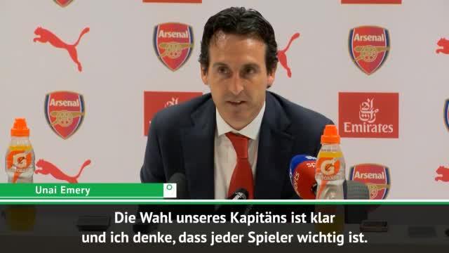 Emery zu Özil: Egal, ob Kapitän oder nicht