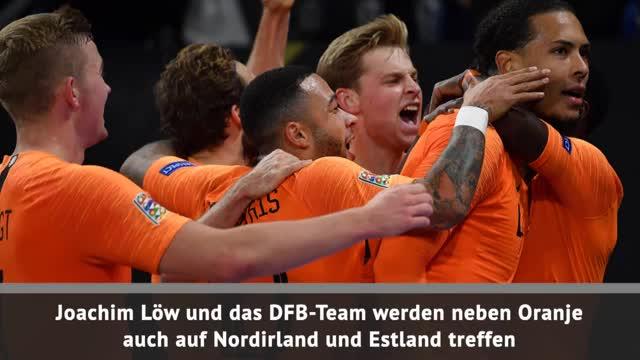 EM 2020: DFB-Team bekommt machbare Quali-Gruppe