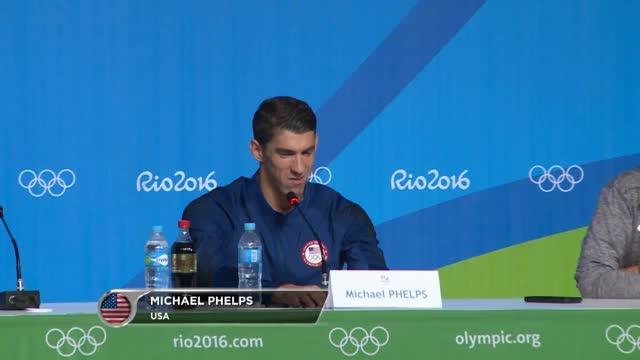 "Phelps: ""Wollte genauso abtreten"""