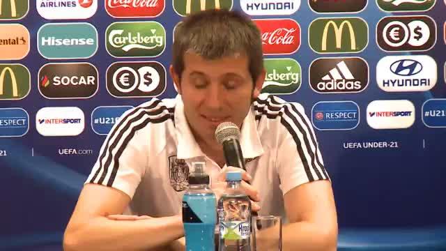 """U21-EM: Spanien-Coach: """"Deutschland einfach gut"""""""