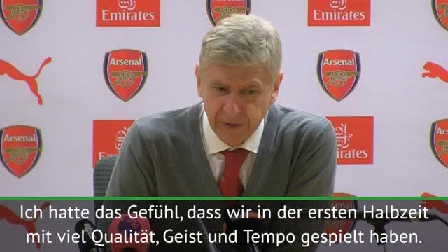 League Cup: Wenger: Sieg nie gefährdet