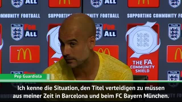 """Guardiola: """"Titelverteidigung wird schwierig"""""""