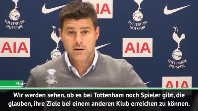 """Pochettino: """"Bin offen für Spieler-Abgänge"""""""