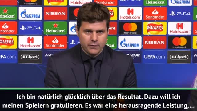 "Pochettino trotz 3:0: ""Müssen BVB respektieren"""