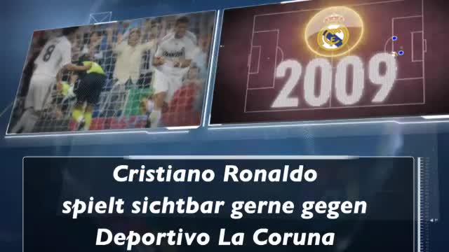 Fakt des Tages: Cristiano Ronaldos Tor-Debüt