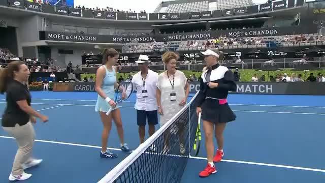 Auckland: Görges dominiert Wozniacki im Finale