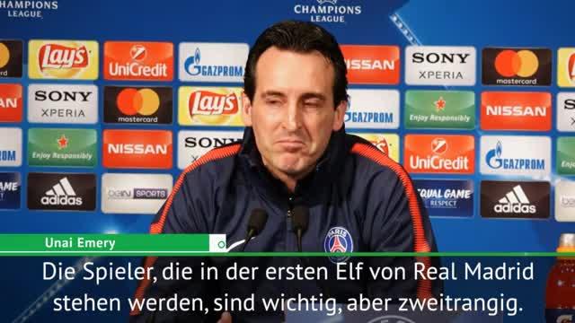 """Emery sicher: """"Können Real Madrid schlagen"""""""