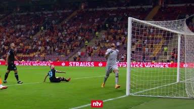 Irrer Patzer lässt Galatasaray jubeln