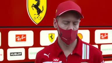 """Vettels Freitags-Fazit: """"Hab mich ganz wohl gefühlt"""""""