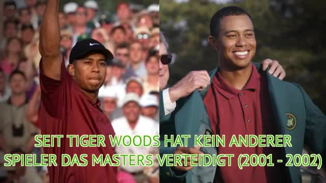 Masters: Tiger Woods' Bilanz in Augusta