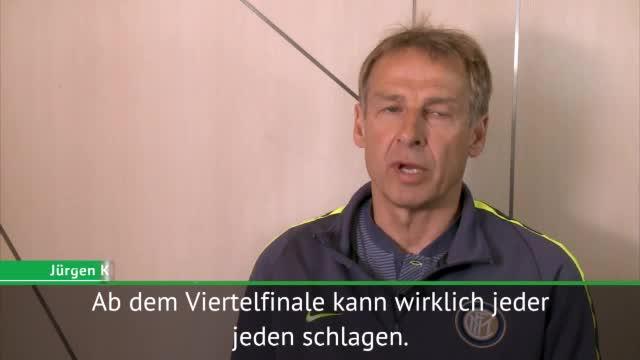 """Klinsmann: """"Wünsche Lionel Messi den WM-Titel"""""""