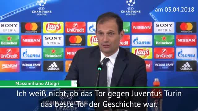 """Allegri: """"Ronaldo der beste Stürmer der Welt"""""""