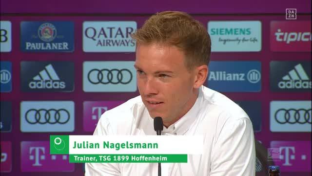 """""""Gefällt's euch?"""" Nagelsmann erklärt neuen Look"""