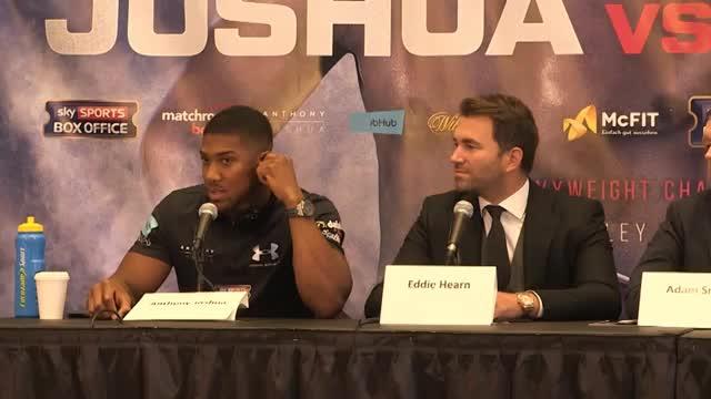 """Joshua mit klarem Ziel vs Klitschko: """"Sieg!"""""""