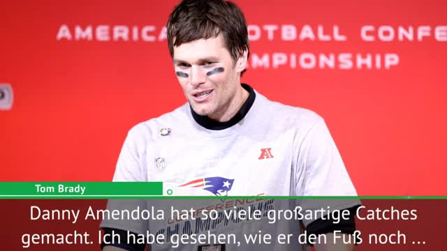 Brady: Hätten ohne Amendola nicht gewonnen