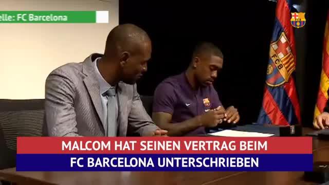 Malcom unterschreibt, Roma fordert Messi