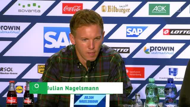 Nagelsmanns Appell nach geschmacklosem Hopp-Plakat