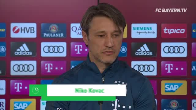 """Kovac kündigt an: """"Spielen 90 Minuten auf Sieg"""""""