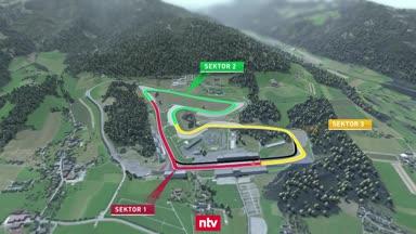 Der Formel-1-Kurs in Spielberg in der Analyse