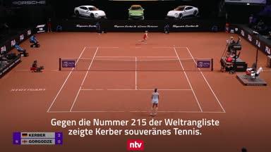 So startete Kerber in Stuttgart