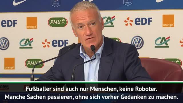 """Deschamps zu Lloris: """"Fußballer keine Roboter"""""""