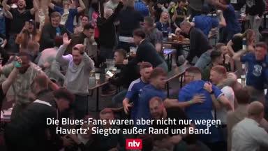 Chelsea-Fans rasten nach Finalsieg aus