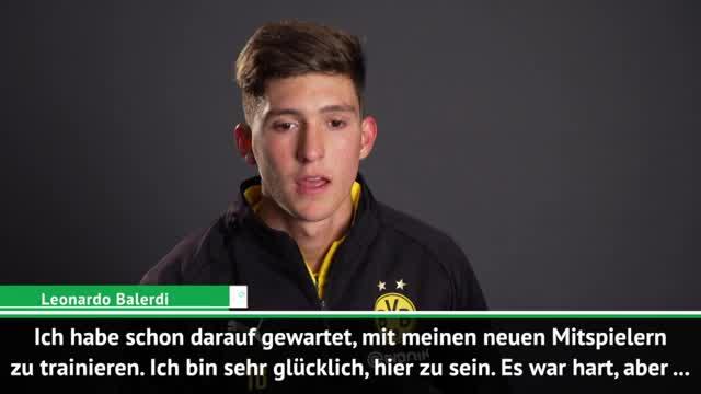 """BVBs Balerdi: """"Trikot mit dem Leben verteidigen"""""""