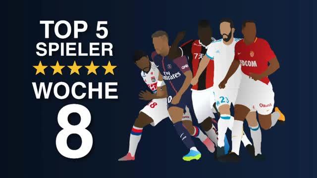 Stars der Woche: Neymar und Draxler in Bestform
