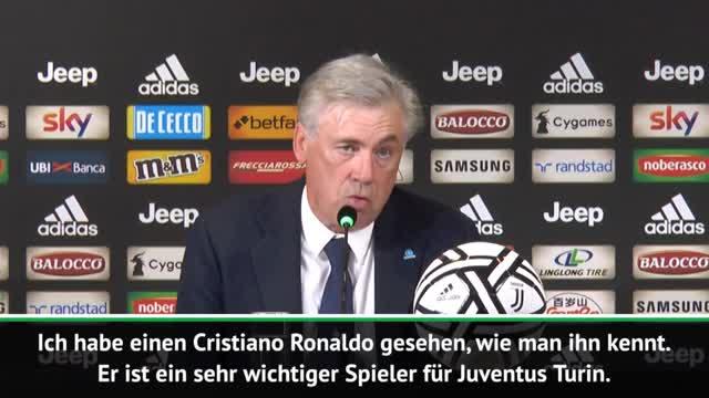 Ancelotti: Ronaldo wertet Serie A auf