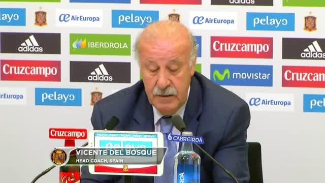Del Bosque erklärt Aus von Bernat und Martinez