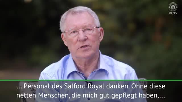 Sir Alex Fergusons emotionale Botschaft an Fans