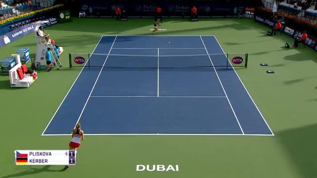 Halbfinale! Kerber überzeugt in Dubai