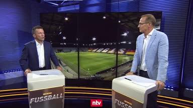 DFB-Test: Matthäus hadert mit schlechter Chancenverwertung