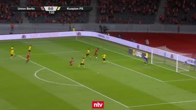 Die Highlights zu Union vs. Kuopion PS