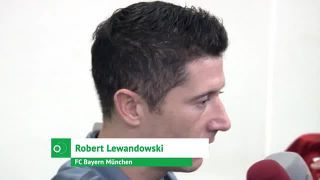 """Lewandowski: """"Haben intern viele Dinge geklärt"""""""