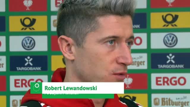 """Lewandowski: """"Zweite Halbzeit zu tief gespielt"""""""