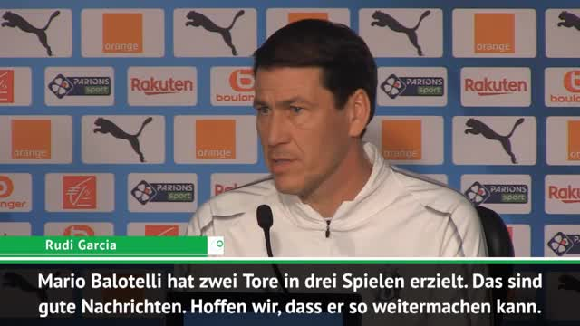 """Garcia zu Balotelli: """"Sorgen um seine Fitness"""""""